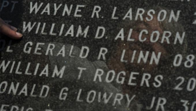 Family visits fallen Saber memorial